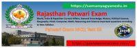 Most important Rajasthan Patwari Exam Test 63